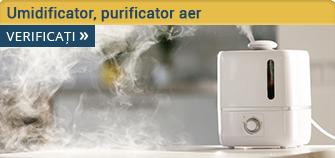 Umidificator, purificator aer