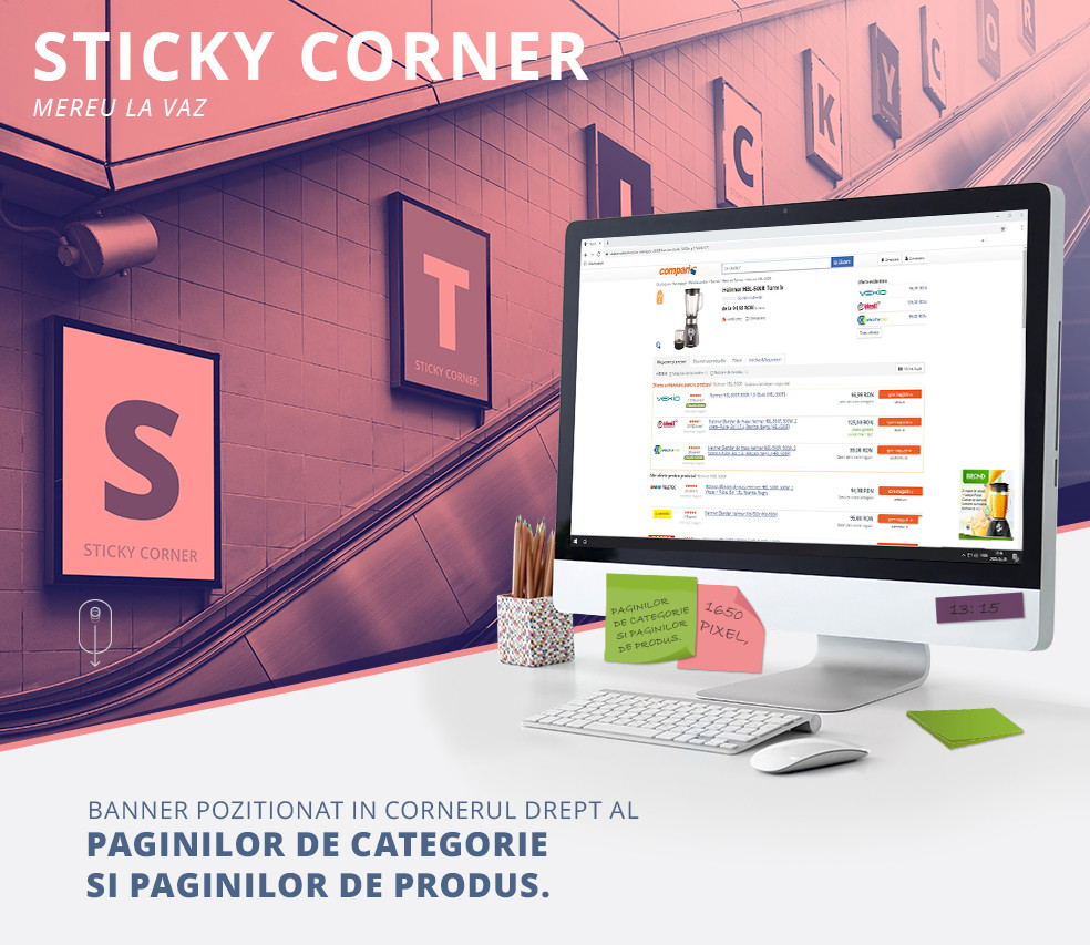Sticky Corner - Mereu la vaz