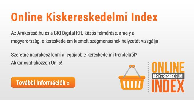 Online Kiskereskedelmi Index