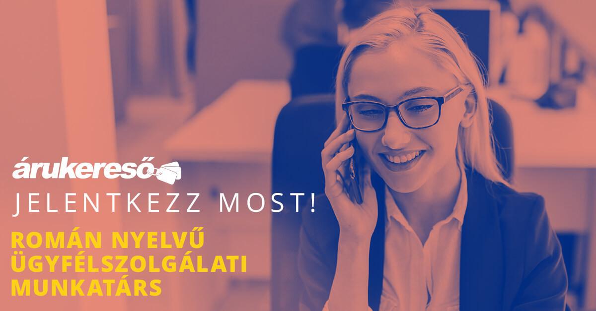 Román nyelvű ügyfélszolgálati munkatárs