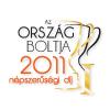 Ország Boltja 2011 Népszerűségi díj I. helyezett