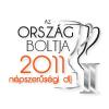 Ország Boltja 2011 Népszerűségi díj II. helyezett