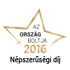 Ország Boltja 2016 Népszerűségi díj I. helyezett