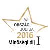 Ország Boltja 2016 Minőségi díj I. helyezett