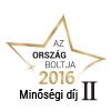 Ország Boltja 2016 Minőségi díj II. helyezett